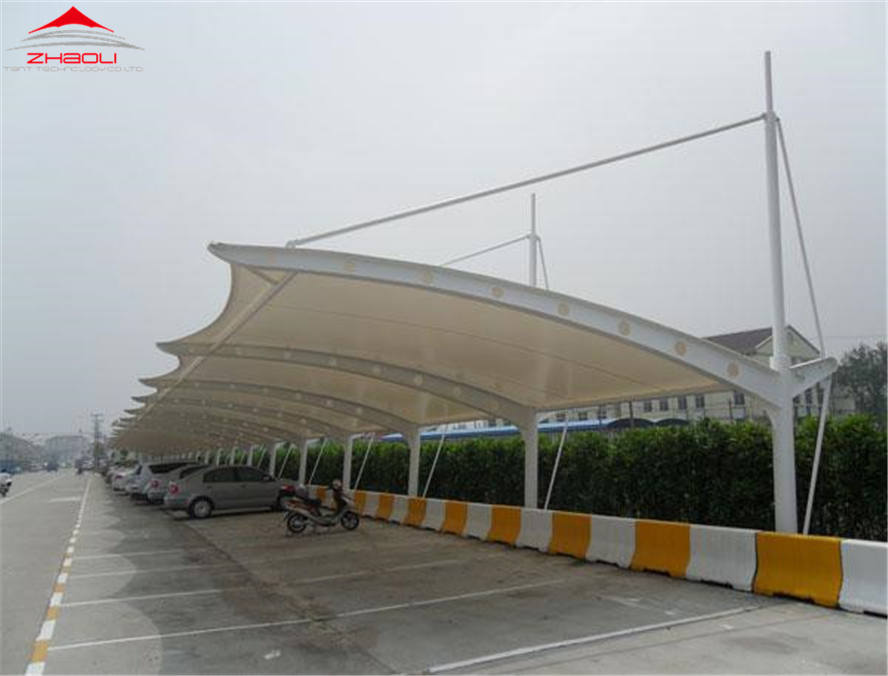 Membrane structure parking factory,Membrane structure factory